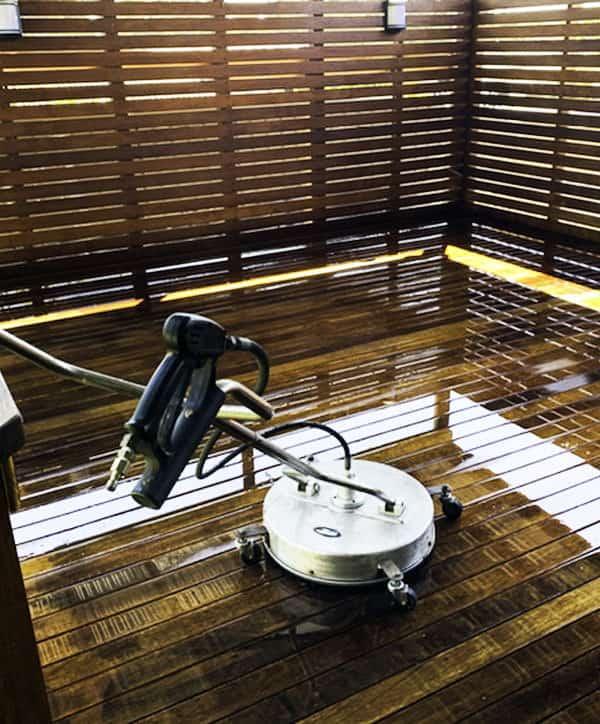 Pressure Washing Decks, Floors, Paths Newcastle   Nixon's Lawn & Garden Service