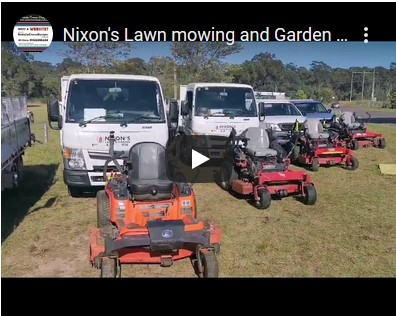 Lawn Mowing Newcastle - Nixon's Lawn & Garden Service Video